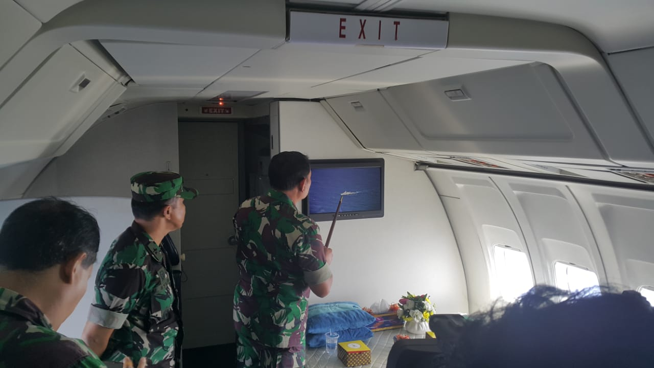Pangkogabwilhan I : Tiga KRI Usir Kapal Asing di Perairan Natuna