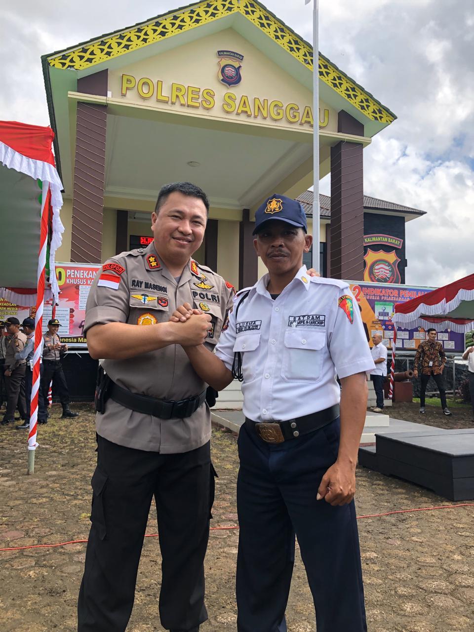 Hut Saptapm Ke-39, Kapolres Sanggau minta tingkatkan kerjasama dan  sinergis