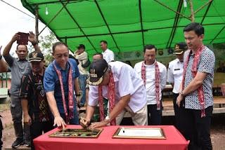 Bupati Sintang Deklarasi Desa ODF