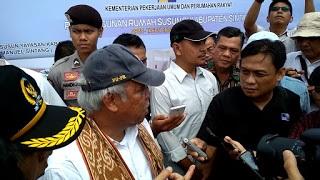 Jarot Dampingi Menteri PUPR Resmikan Empat Rumah Susun Di Sintang