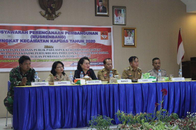 Lakukan Musrembang Mengintegrasikan Skala Prioritas Pembangunan di Wilayah Kecamatan