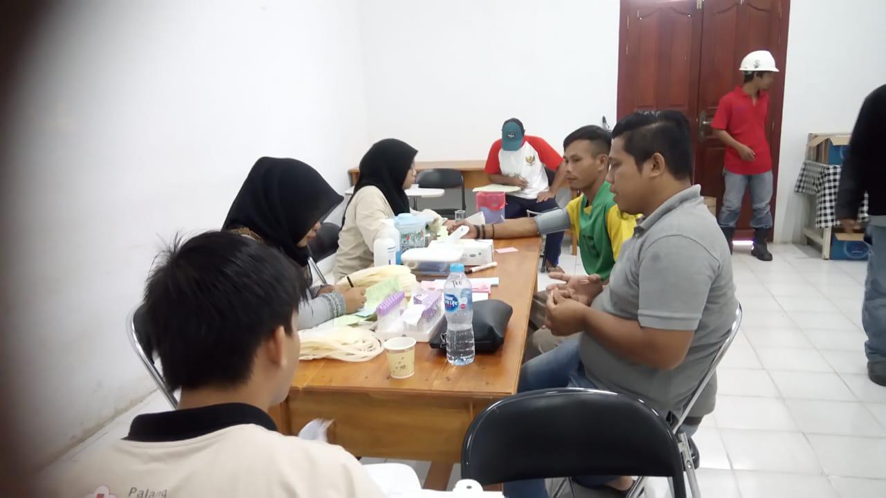 Penuhi Kebutuhan bloodbank,PMI Sanggau berkerja sama degan PT.MPE