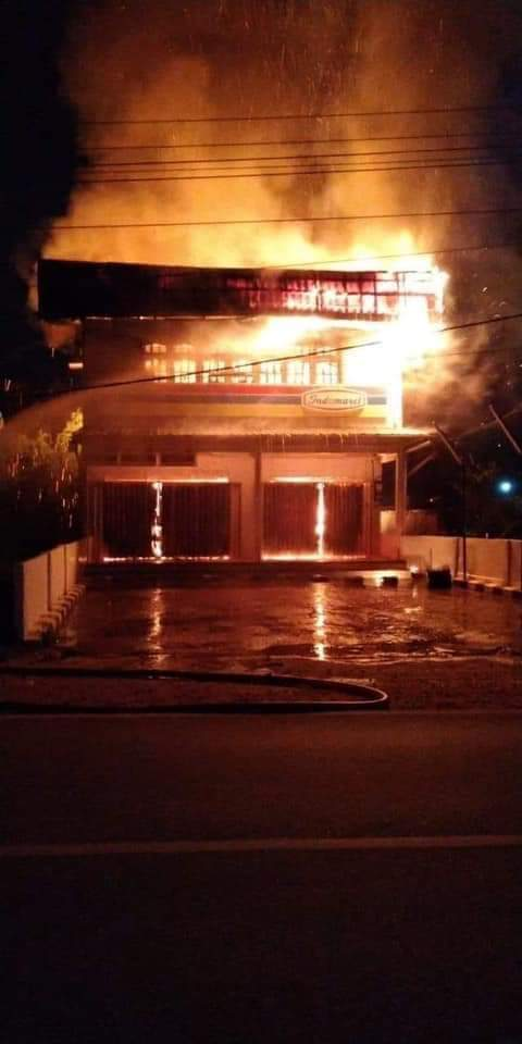 Terkait Kebakaran di Sosok lni Penjelasan Pihak Indomaret