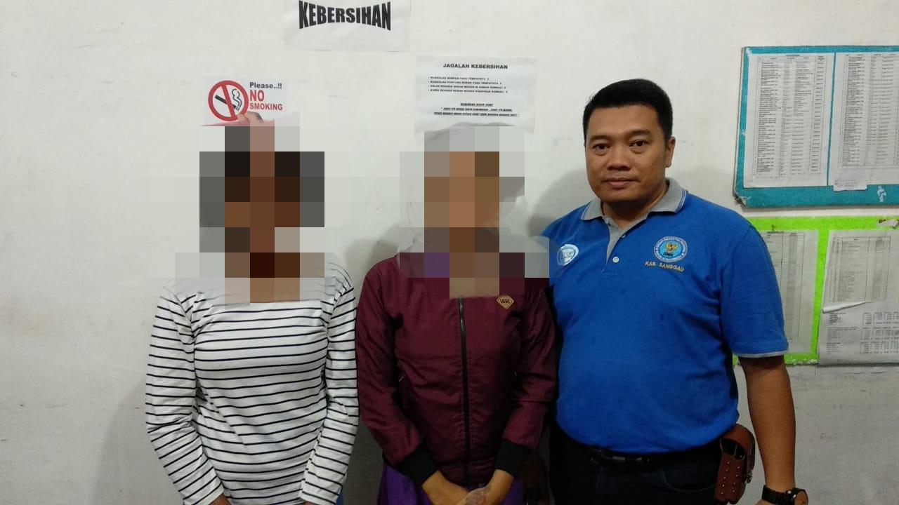 Razia Gabungan di Sanggau, 2 wanita Positif Telah Menggunakan  Obat Terlarang