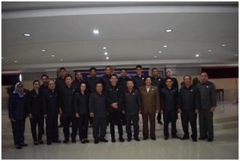 DPRD Sintang Gelar Rapat Paripurna Ke-5 Masa Persidangan I Tahun 2020