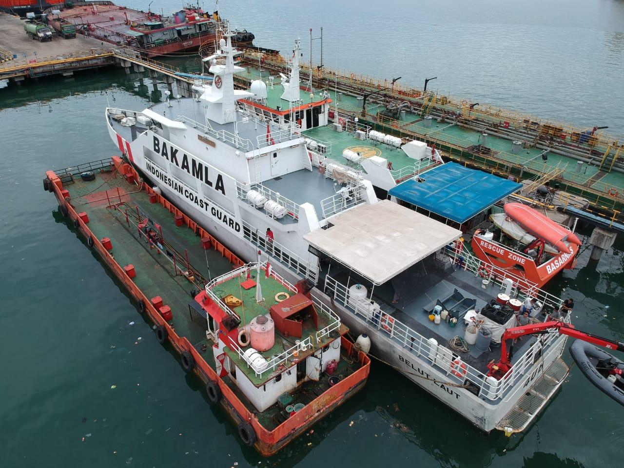 Satgas Trisula Bakamla RI Tangkap Kapal Diduga Transfer BBM Ilegal di Perairan Lampung