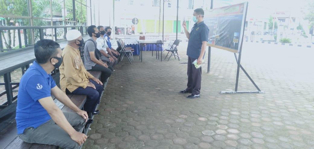 Polres Sanggau Lakukan Pelatihan Program Keselamatan Tahun 2020 Kepada Mitra  Lantas