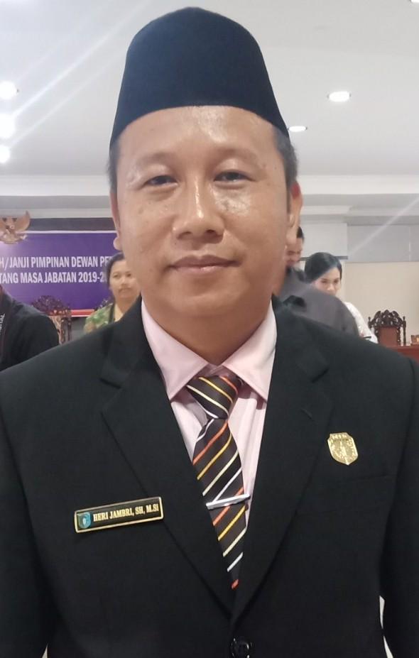 Heri Jambri Menyambut Baik Koordinasi Imigrasi Kelas II TPI Sanggau Ke Pemkab Sintang