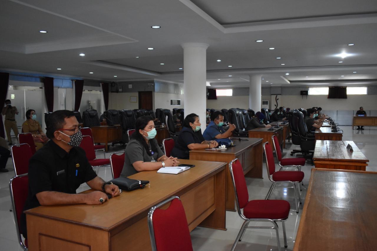 Heri Jambri Pimpin Sidang Jawaban Pemerintah Atas Pandangan Umum Fraksi Terhadap RDTR Sungai Ringin