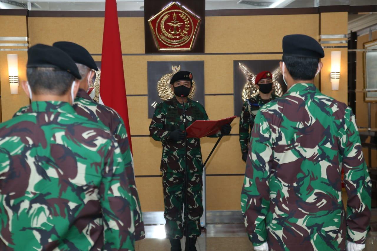 Panglima TNI Pimpin Sertijab Kepala Badan Pembinaan Hukum