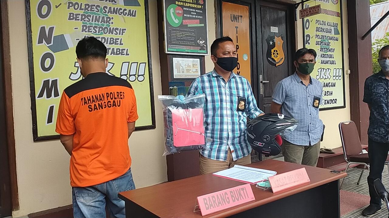 Pelaku Curanmor di RSUD Sanggau ditangkap
