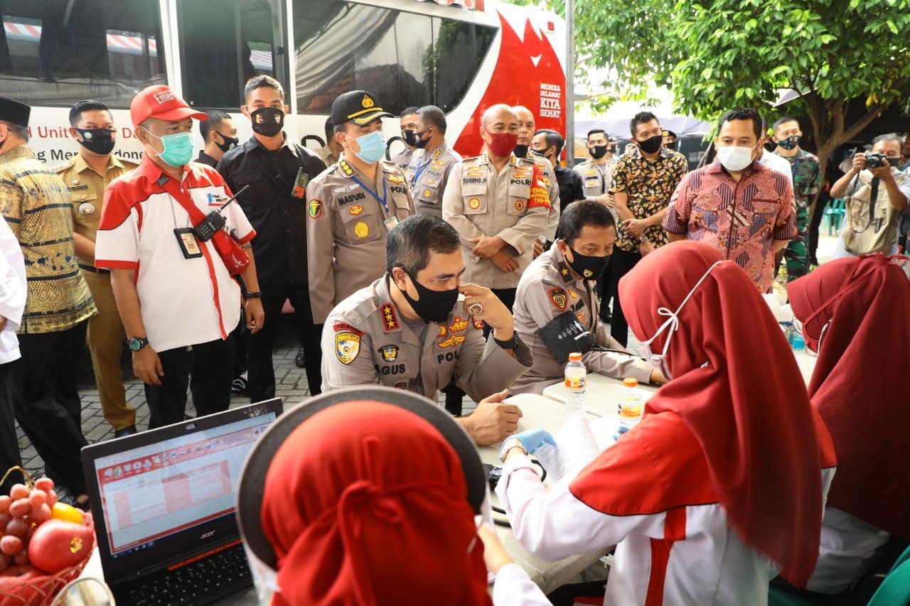 Jelang Hari Bhayangkara ke-74, Baharkam Polri Gelar Baksos dan Bakkes Serentak di Kota Tangerang
