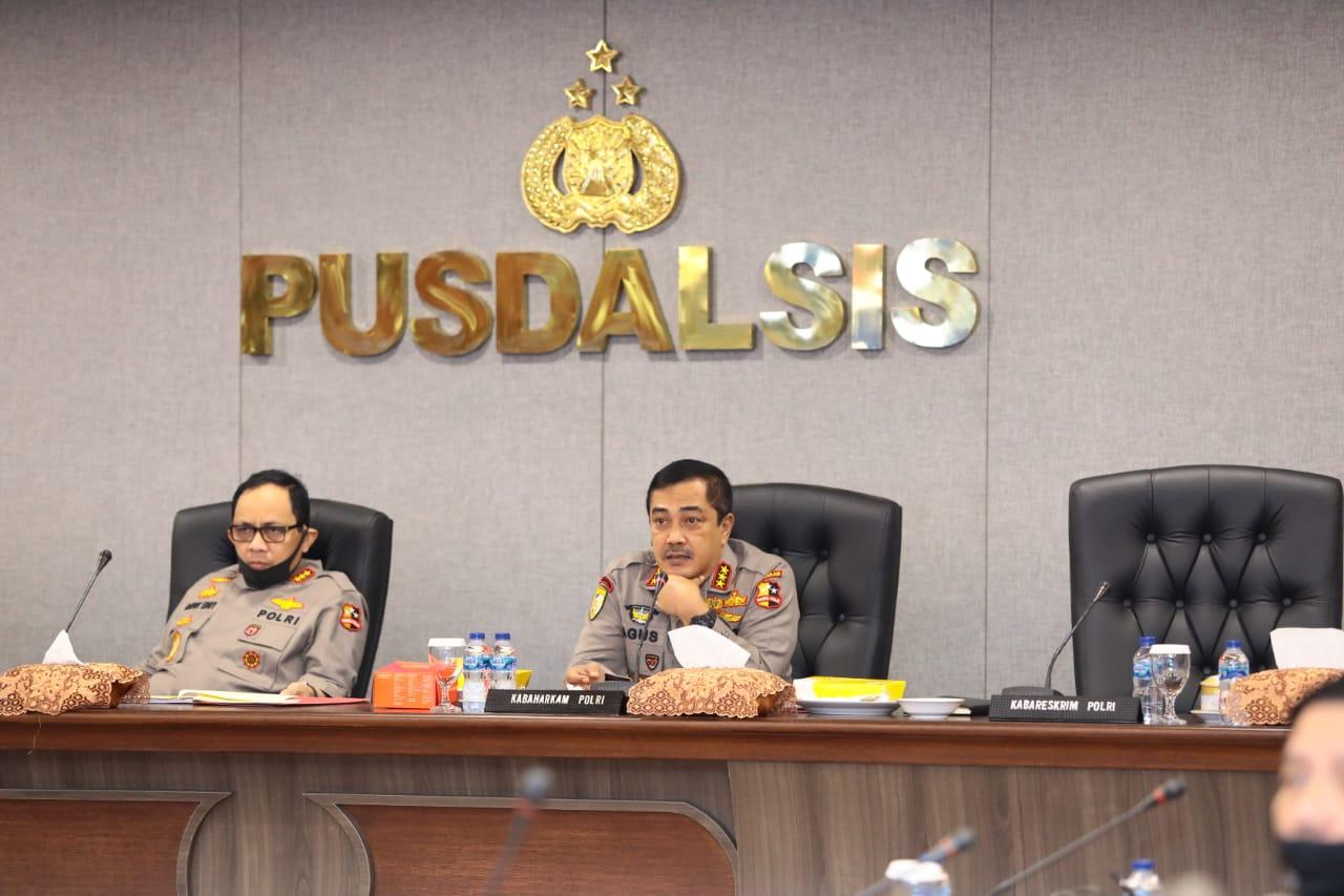 Anev Aman Nusa II, Kabaharkam Polri Minta Sosialisasi dan Edukasi Prokes Terus Dimasifkan dan Dievaluasi