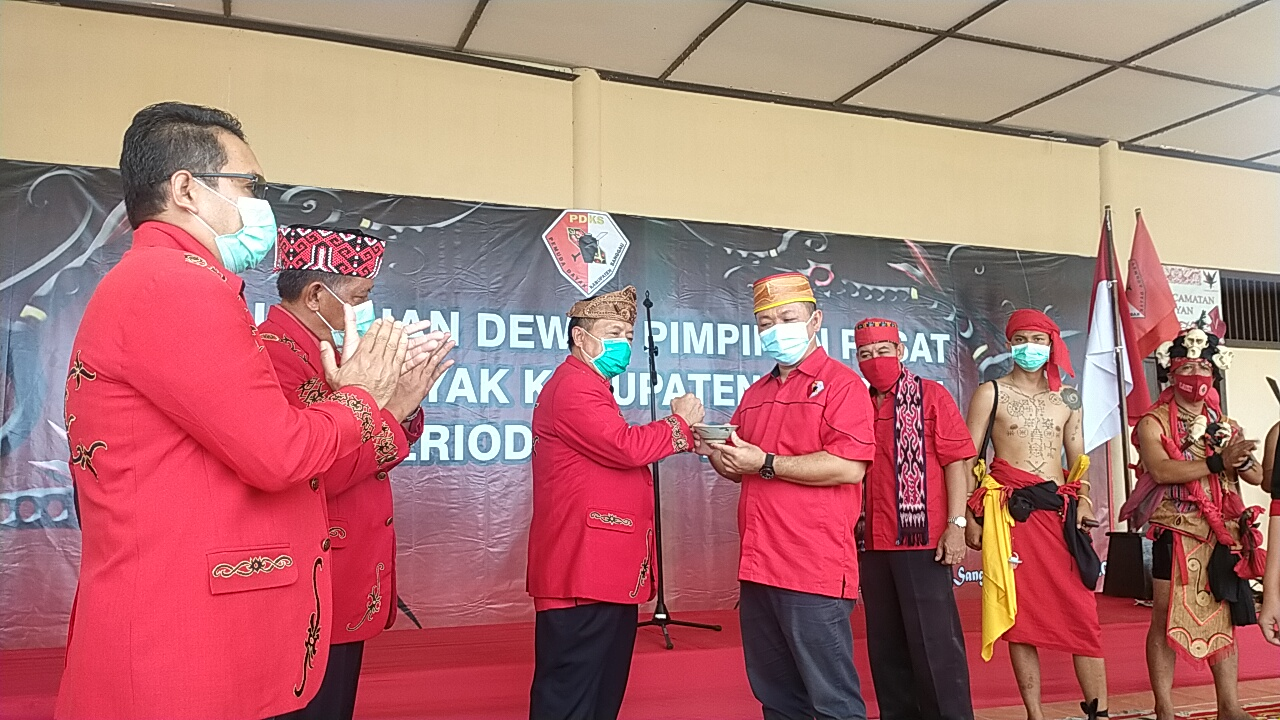 Ketua DAD Kabupaten Sanggau Meminta Agar PDKS Dapat Bersinergi Dengan Organisasi Lain