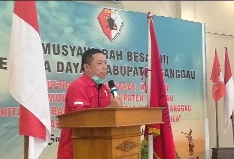 Ketua Umum Pemuda Dayak Kabupaten Sanggau Minta Masyarakat Tetap Patuhi Protokol Kesehatan