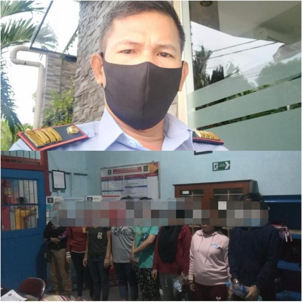 Lakukan Pembinaan Lanjutan 26 Orang Narapidana di Rutan Kelas II B Sanggau di Pindahkan