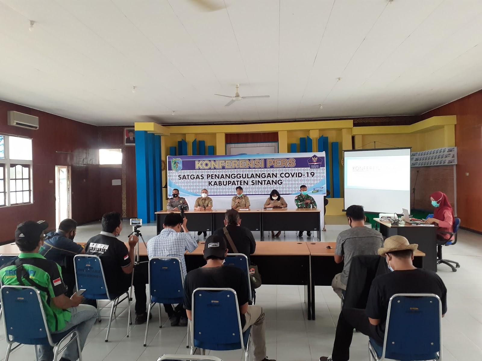 Data Covid-19 Kabupaten Sintang Penyampayaan Ke 9