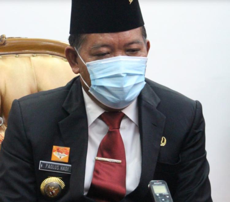 Bupati dan Pejabat di Kabupaten Sanggau Siap Untuk Menerima Vaksin Covid-19