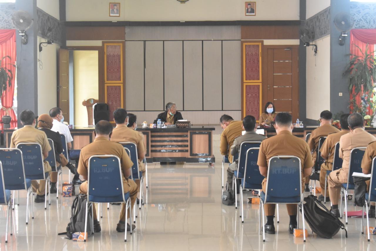 Rapat Koordinasi Persiapan Kegiatan Pembangunan Anggaran 2021