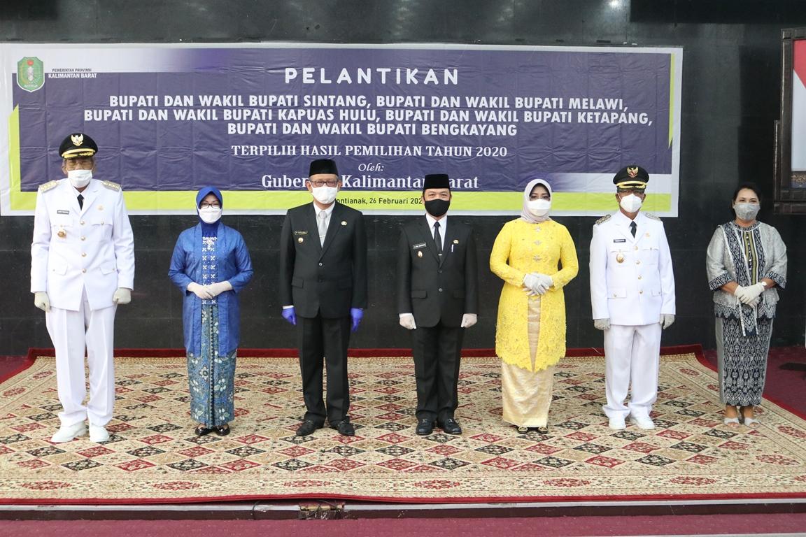 Jarot-Sudiyanto Resmi Pimpin Sintang 5 Tahun Ke Depan