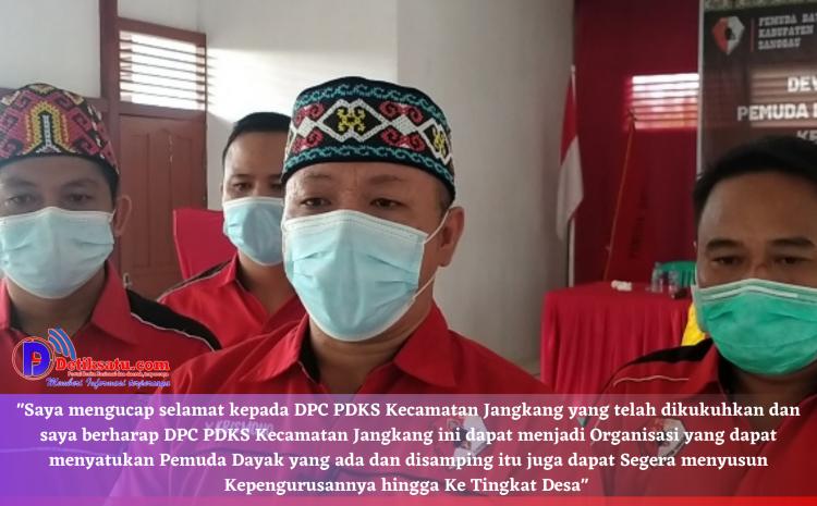 Dikukuhkannya Pengurus DPC PDKS Kecamatan Jangkang, Ketum Minta Perkuat Organisasi Hingga Tingkat Desa