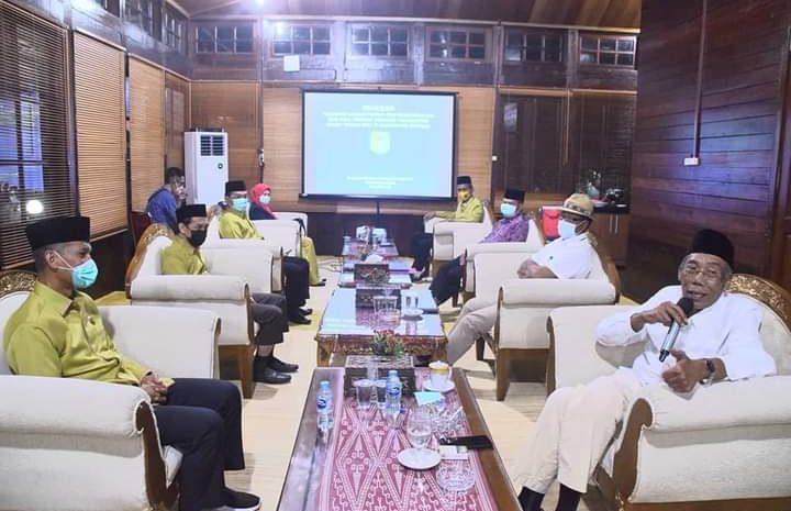 Bupati Sintang Pimpin Rapat Persiapan MTQ Tingkat Provinsi Yang Akan Dilaksanakan Di Sintang