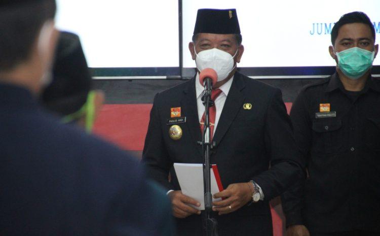Pesan Bupati Sanggau Agar Para PNS di Sanggau Tetap Patuh Kepada Sumpah dan Janjinya