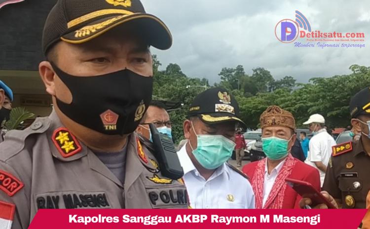 Kerahkan 95 Orang Pasukan, Polres Sanggau Lakukan Pengamanan dan Pengawasan Masyarakat Yang Akan Mudik