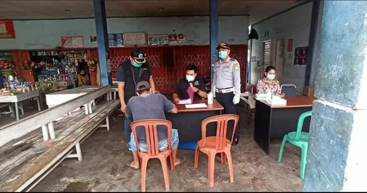 BNNK Sanggau Hadir Dalam Kegiatan Rampcheck Menjelang Hari Raya Idul Fitri