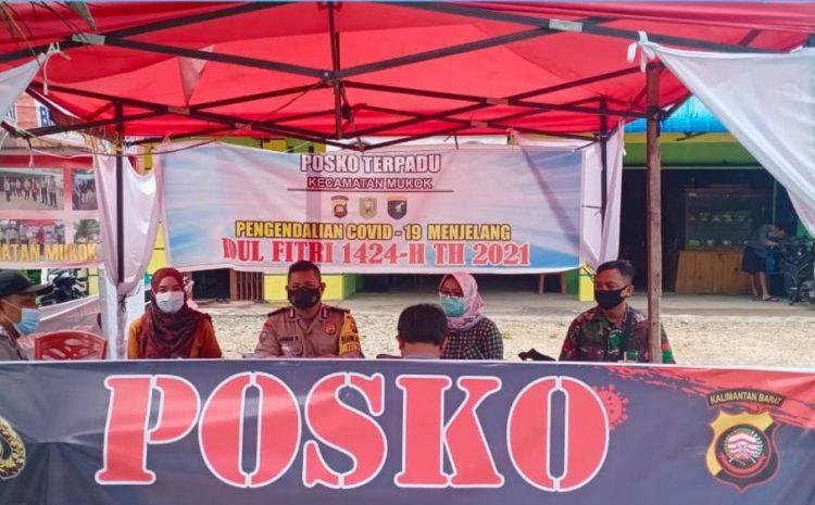 Terlibat Langaung PPKM Mikro, TNI Turut Hadir dalam Penjagaan Di Posko Kesehatan