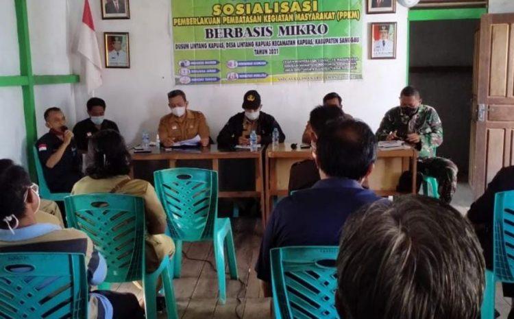 Babinsa Koramil 1204-01/Kapuas,Turut Sosialisasikan Bahaya Covid-19 Sampai Ketingkat Desa