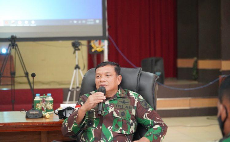 Menyikapi perkembangan Covid-19 di kabupaten Melawi Danrem 121/Abw perintahkan operasi penegakan.